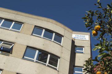 Fachada Colegio Mercantil
